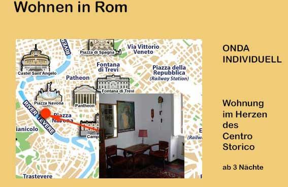 wohnen in rom onda individuell wohnen im centro storico. Black Bedroom Furniture Sets. Home Design Ideas